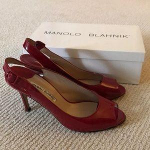 Manolo Blahnik Sling Backs